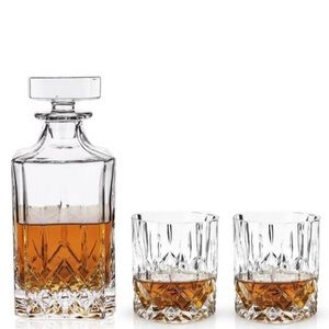 Viski NEW decanter set glasses retro 50s